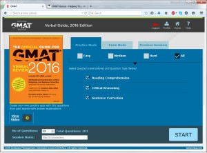 2016 GMAT Verbal Official Guide