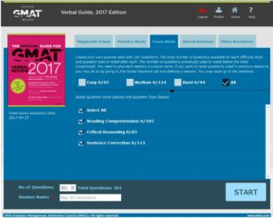 2017 GMAT Verbal Official Guide