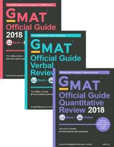 2018 GMAT Official Guide Bundle