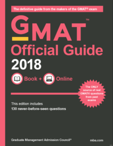 2018 GMAT Official Guide