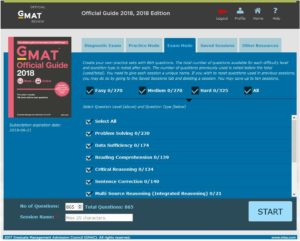 2018 GMAT Official Guide Online Interface