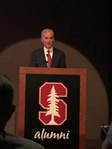 Stanford President Marc Tessier-Lavigne