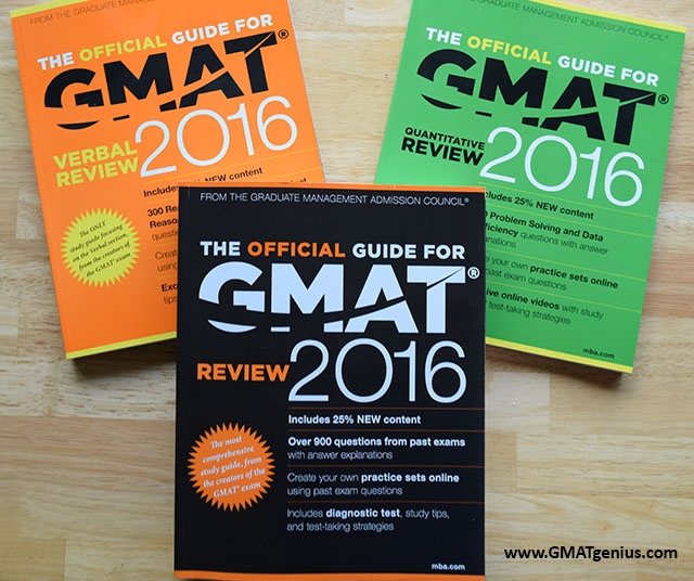 Official Guides for GMAT Review